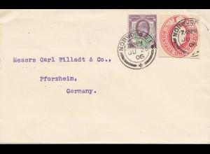 England: 1906 Norwood nach Pforzheim