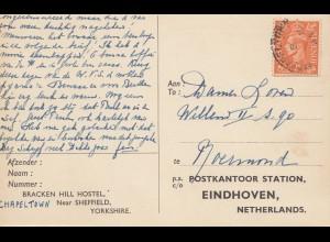 England: 1945 Bracken Hill Hostel nach Eindhoven