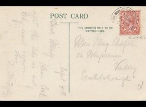 England: 1922: Ansichtskarte Bowness