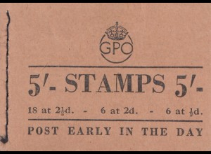 England: Post Stamps - Early in the day - full of stamps