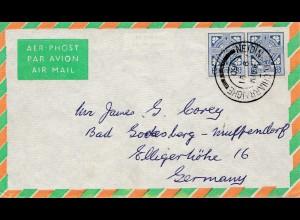 Irland: 1960: Neidin - Luftpost nach Bad Godesberg