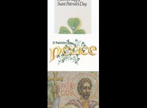 Irland: Ansichtskarte 3x: St. Patricks Day -