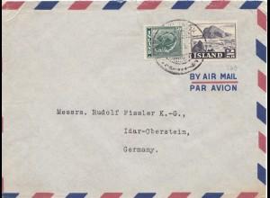 Island: Brief nach Idar Oberstein
