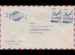 Island: 1958: Akureyri nach Bad Urach