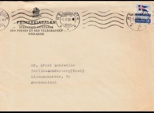 Island: 1951: Reykjavik nach Berlin