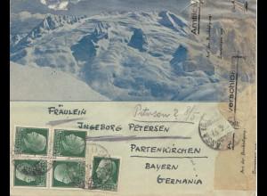 Italien: 1937: nach Partenkirchen