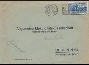 Italien: 1931: Roma nach Berlin - AEG