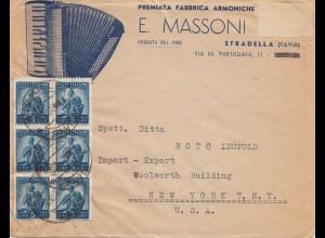 Italien: Stradella/Pavia nach USA
