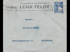 Italien: 1938: Como nach Nürnberg