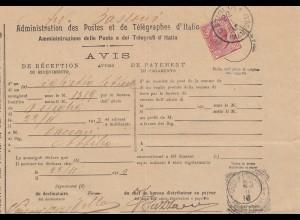 Italien: 1910: Avius Ostiglia