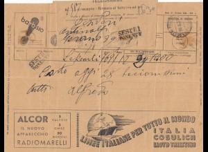 Italien: 1937: Telegramma