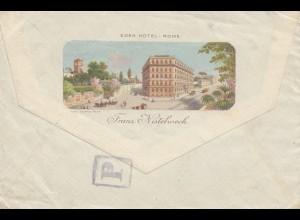 Italien: 1913: Rome nach Dresden