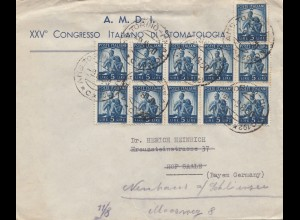 Italien: 1950: Torino nach Hof/Saale
