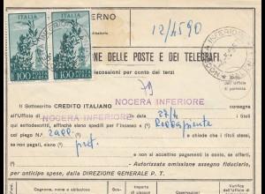 Italien: 1957: Rocca Piemonte