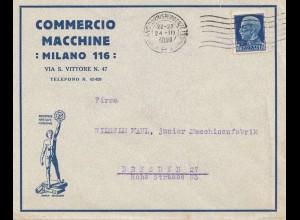 Italien: 1930: Milao nach Dresden