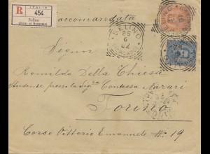 Italien: 1882: Selino nach Torino