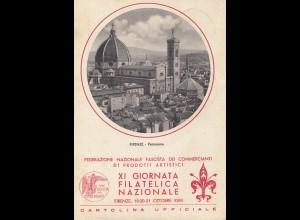 Italien: 1940 Firenze: XI Giornata Filatelica Nazionale