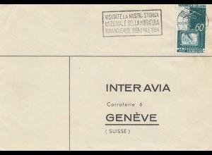 Italien: 1953: Mostra Storica Nazionale della Miniatura
