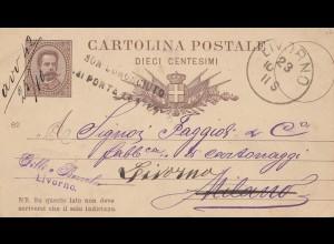 Italien: 1923: Livorno nach Milano