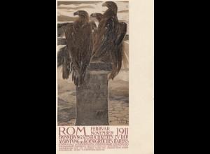 Italien: 1911: Rom Erinnerung Ausrufung des Königreiches Italien