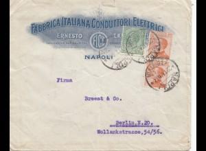 Italien: 1926: Napoli Conduttori Elettrici nach Berlin
