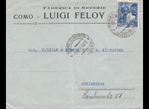 Italien: 1938: Como nach Norimberga