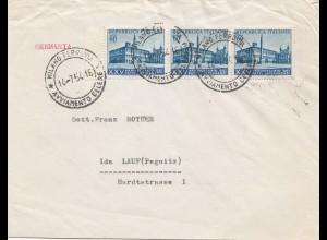 Italien: Milano 1954 nach Lauf/Pegnitz