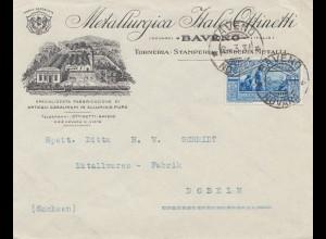 Italien: 1931: Torneria Baveno nach Dobeln