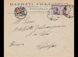 Italien: 1926: Torino in die Schweiz