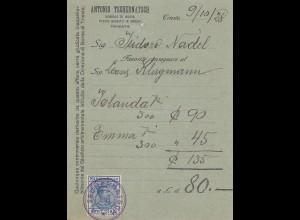 Italien: 1928: Trieste