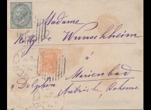 Italien: 1879: Venezia nach Marienbad