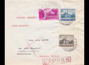 Italien: 1954: Milano nach Lauf/Pegnitz