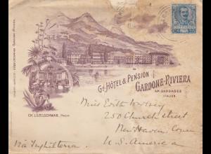 Italien: 1902: Gardasee nach USA