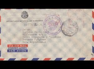 Italien: 1956: General de Gobierno to Argentina