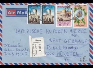 1978: Tripoli an BMW München