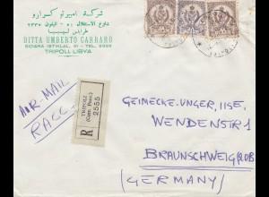 Libyen: 1959: Tripoli nach Braunschweig