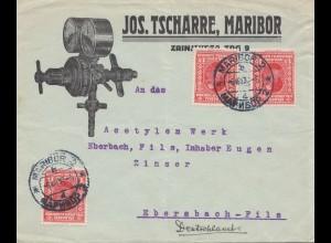 Jugoslawien: 1930: Maribor nach Ebersbach-Zinser