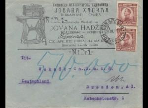 Jugoslawien: 1932 Pozarevace nach Dresden