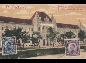 Jugoslawien: 1923: Ansichtskarte Veliki-Beckerek nach Dresden