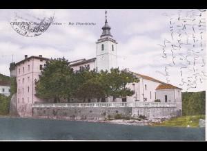 Jugoslawien: 1928: Ansichtskarte Crikvenica