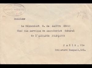 Jugoslawien: 1924: MeF nach Paris - Commandant Sainte Croix