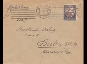 Lettland: 1921: Riga nach Berlin