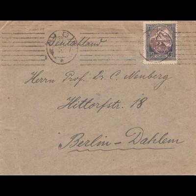 Lettland: Brief von Riga nach Berlin
