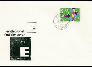 Liechtenstein: 1960 FDC Vaduz - Europa
