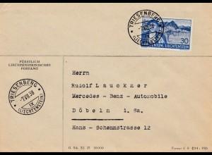 Liechtenstein: 1938: Triesenberg nach Döbeln