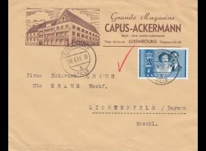 Luxemburg: 1953: Luxembourg nach Lichtenfels