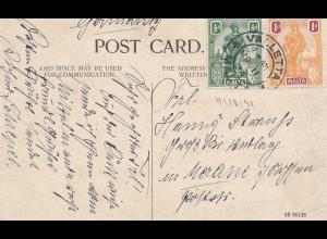 Malta: 1924: Ansichtskarte