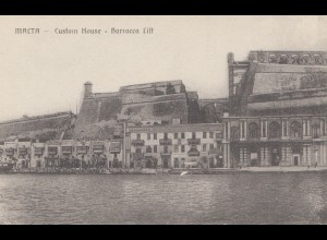 Malta: Ansichtskarte Custom House