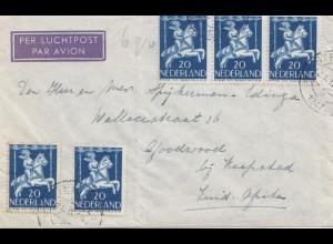 Niederlande: 1947: Steenwick nach Kapstadt/Südafrika