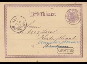 Niederlande: 1876: Amsterdam nach Arnhem